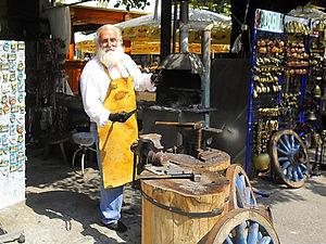blacksmith, cetinje, montenegro