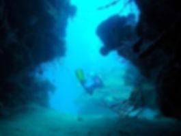 cave, diving, montego bay, jamaica