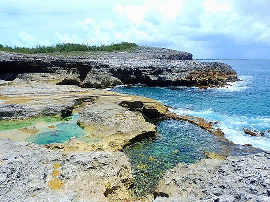 queen's baths, eleuthera, bahamas