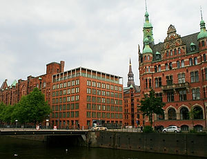 hamburg, germany, spreicherstadt