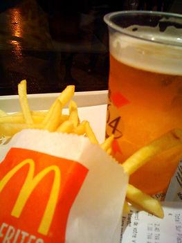 mcdonalds, beers, paris, france