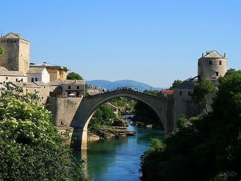 Mostar, stari most, bridge, Bosnia and Herzegovina,
