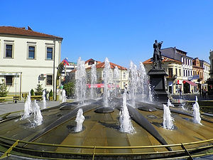 Bitola, fountain, macedonia