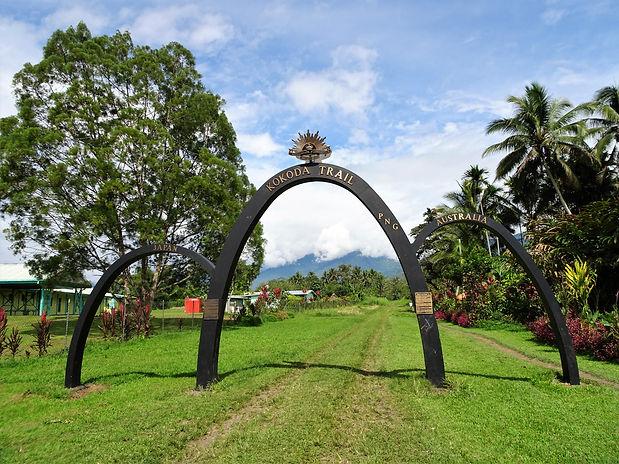kokoda trail, kokoda track, papua new guinea, arch