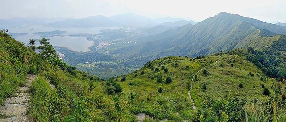 wilson trail, hong kong, mountain, hiking, view