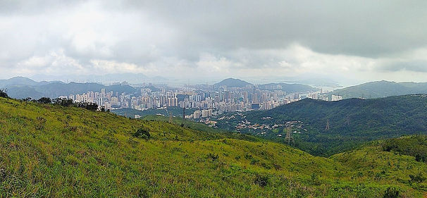 hong kong, trail, mountain, hiking, view, new territories