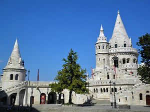Fisherman's Bastion, Castle Hill, budapest, hungary