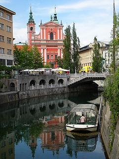 ljubljana, slovenia, river