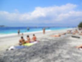 Gili islands, Indonesia, beach