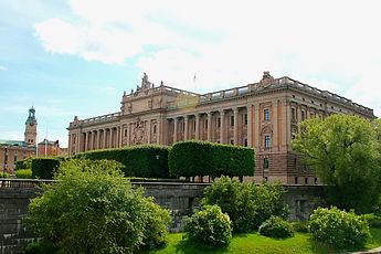 parliament house, stockholm, sweden