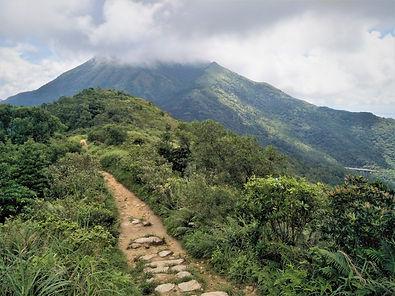 lantau island, lantau trail, view, mountain, hiking, hong kong, lantau peak