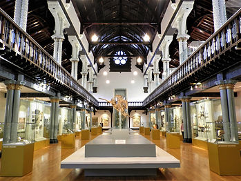 Hunterian museum, glasgow, scotland