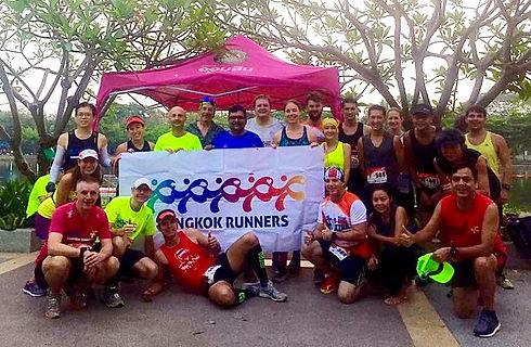Bangkok runners, thailand