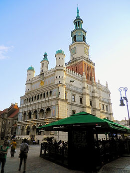 Town Hall, poznan, poland