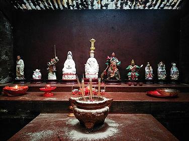 hong kong, trail, mountain, hiking, view, yuen tsuen ancient trail, chinese temple