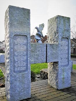 Hunger Strike memorial, derry, northern ireland