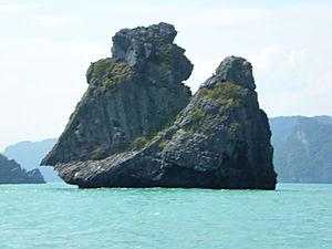 monkey island, ko phangan, thailand