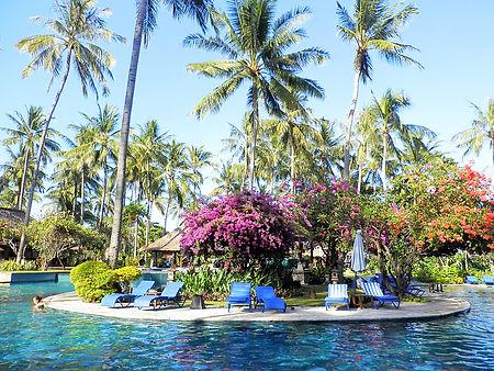 Lombok, Indonesia, pool, resort