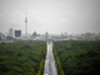View from Siegessaule, victory column, berlin, germany