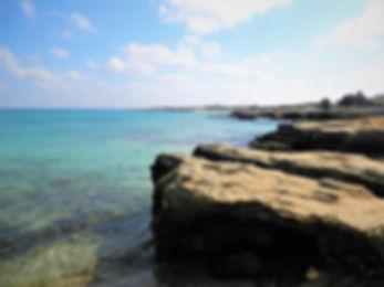 Salento coastline, sea, ocean, italy, puglia