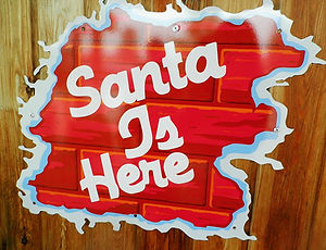 Santa Claus Village, north pole, rovaniemi, finland