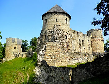 Cesis Medieval Castle, latvia
