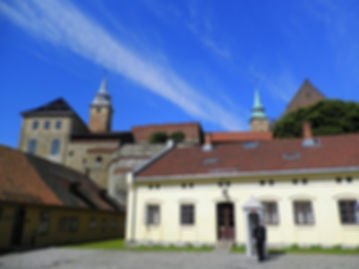 Akershus fortress and castle, oslo, norway