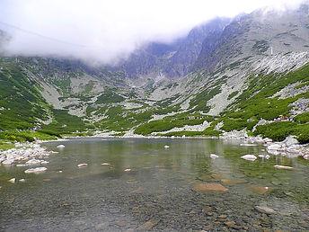 Skalnate Pleso, high tatras, slovakia