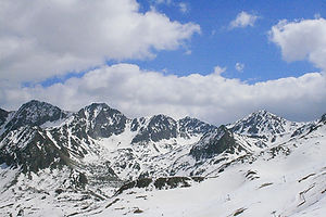 andorra, snow, mountains