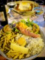 porto, portugal, food, dinner