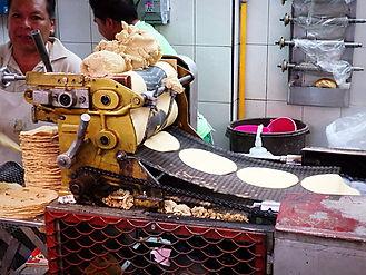 making tortillas mexico city