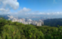 wilson trail, hong kong, hiking, mountains, view, city