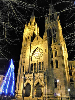 Cathedral, Truro, cornwall, england