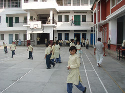 In between classes