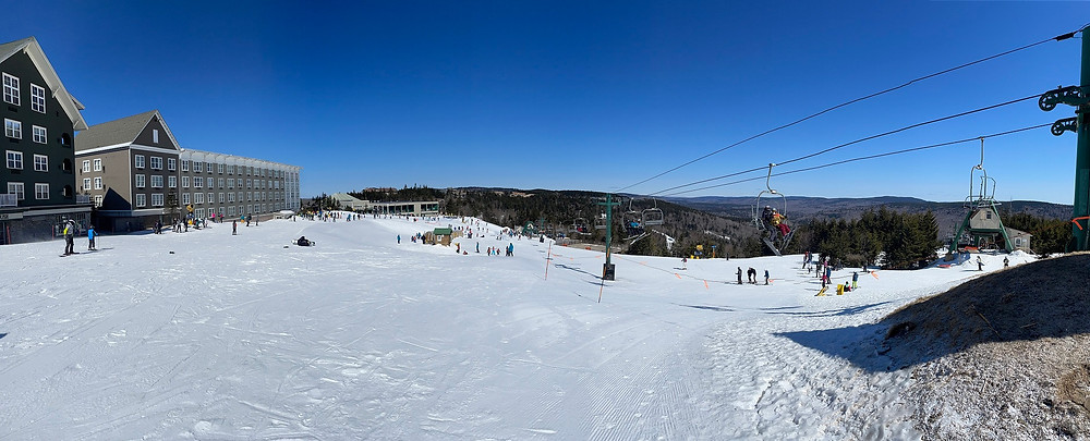 the top of snowshoe mountain resrot in west virginia