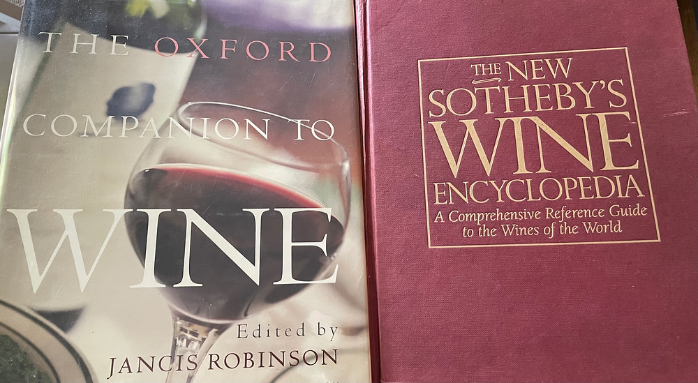 the Oxford Companion to Wine and the New Sotheby's Wine Encyclopedia - Wine Research