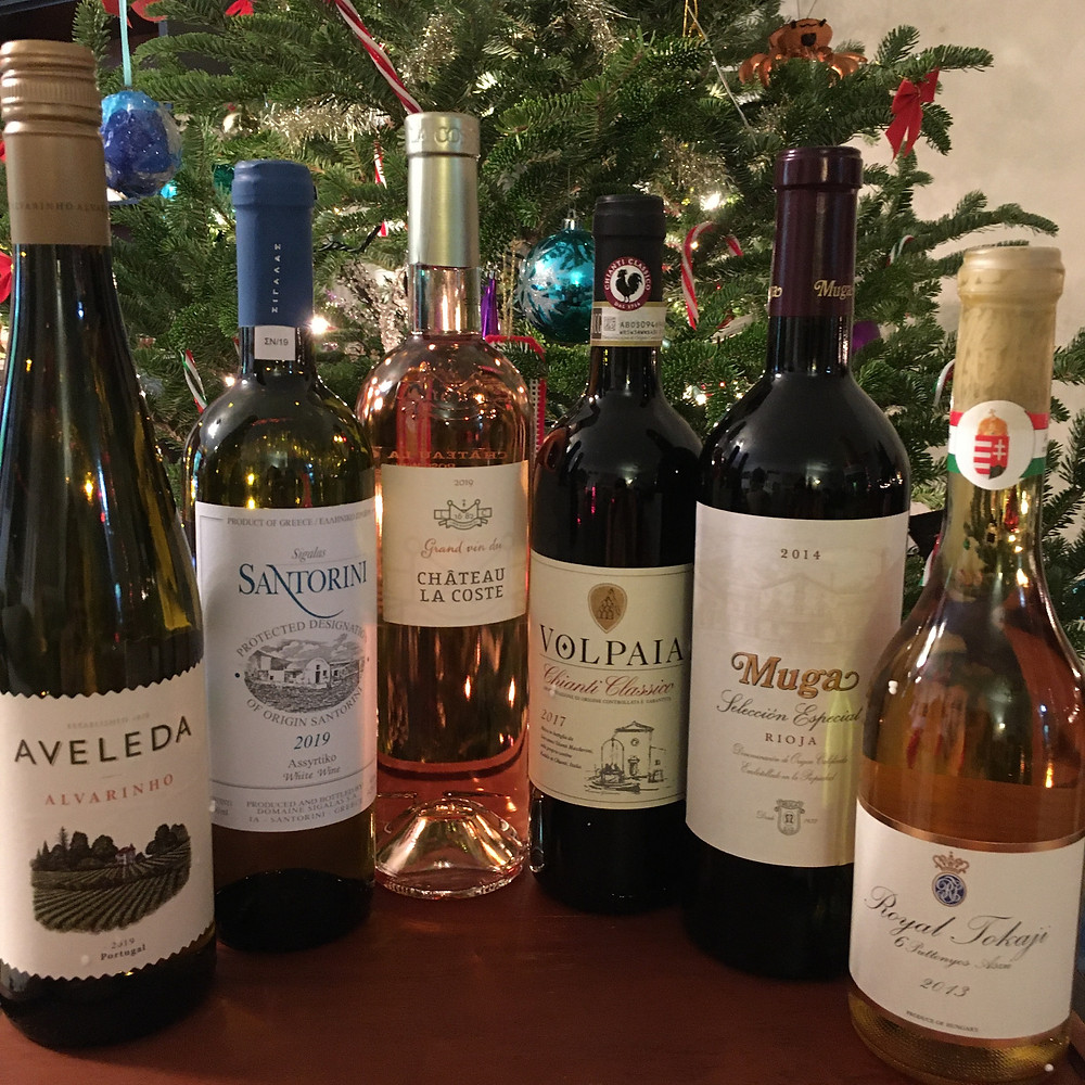 the list of the 2020 holiday wine by Craig Zabransky -