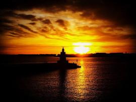 Hartlepool Sunset Pilot Pier