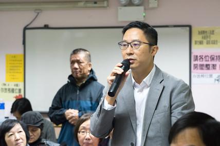 會見食衛局局長陳肇始教授
