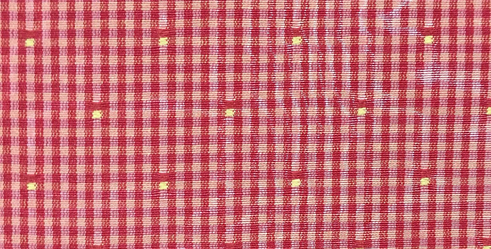 Pink - Dark Pink - Yellow Dots