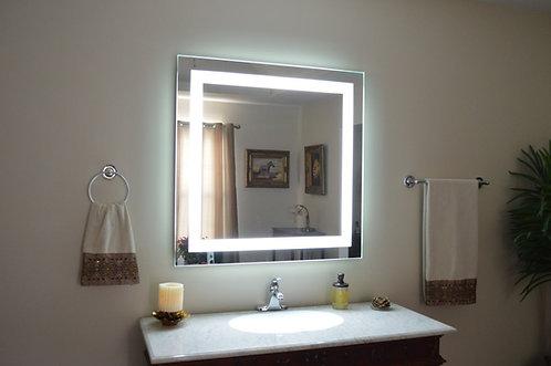 Зеркало с подсветкой 01 100х80 см.