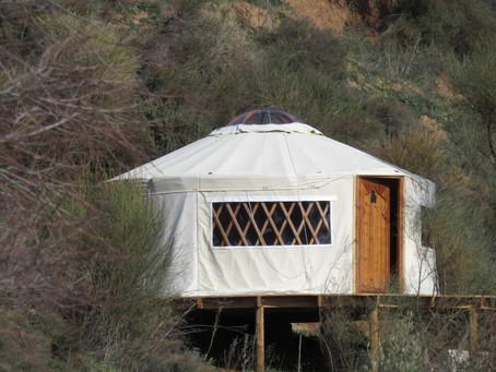 Morocco Yurt/Yurta de Marruecos/La Yourte du Maroc