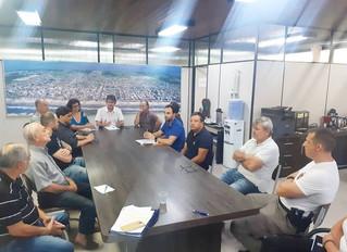 Coronavírus: reunião com entidades e representantes municipais