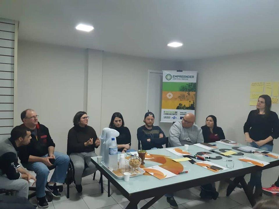 Núcleo de Gastronomia - reunião