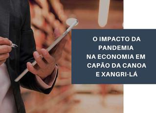 Pesquisa: Impactos da Covid-19 na economia de Capão da Canoa e Xangri-Lá.