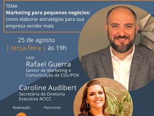 Circuito Lives ACICC - Banrisul VERO conversa com Rafael Guerra, Gestor de Marketing e Comunicação d