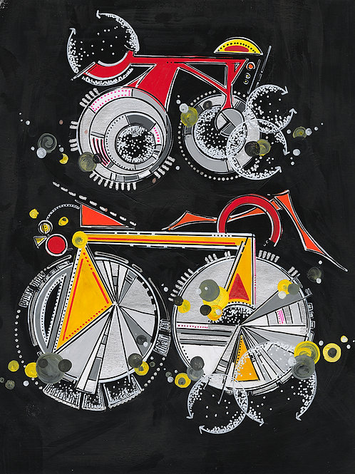 Tandem Bike Babe