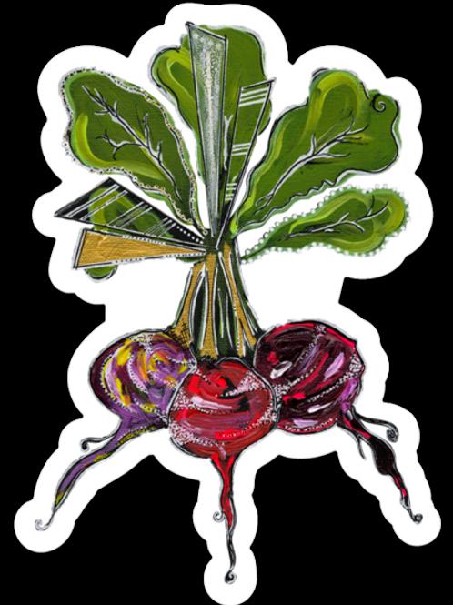 Beet Sticker