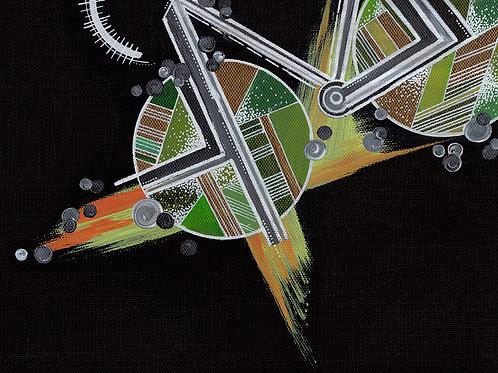 Sideways Bike Babe