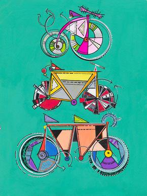 Bike Totem Pole